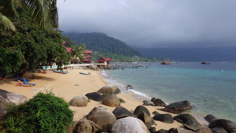 Tioman Island, Malaysia royalty free stock photo