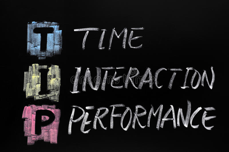 Download TIP Acronym,time Interaction Stock Photo - Image of dictionary, chalkboard: 22642934