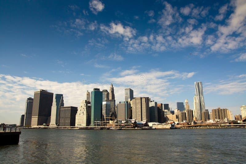 Tip of Manhattan stock images