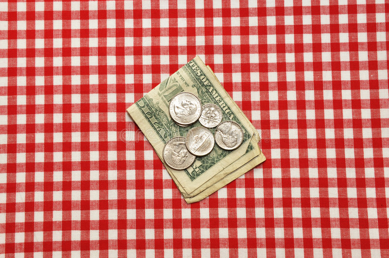 Download Tip on Table stock image. Image of white, checked, nickel - 8927265