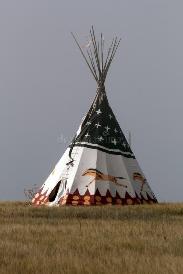 Tipi de Natif américain photographie stock libre de droits