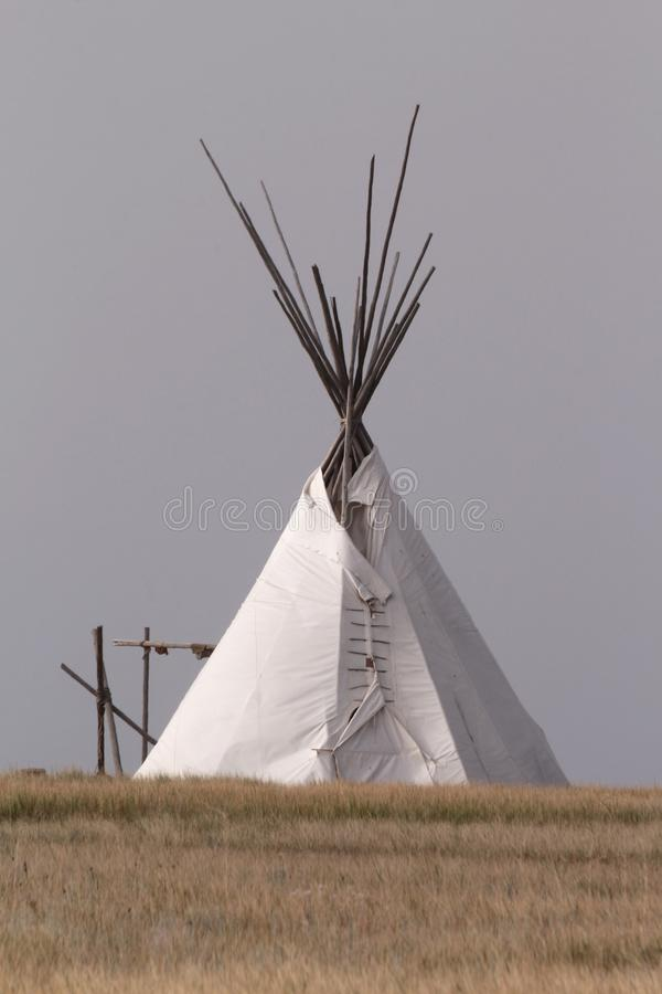 Tipi de Natif américain image libre de droits