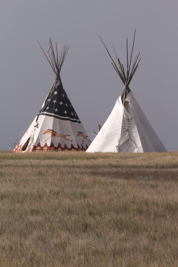 Tipi de Natif américain photos libres de droits