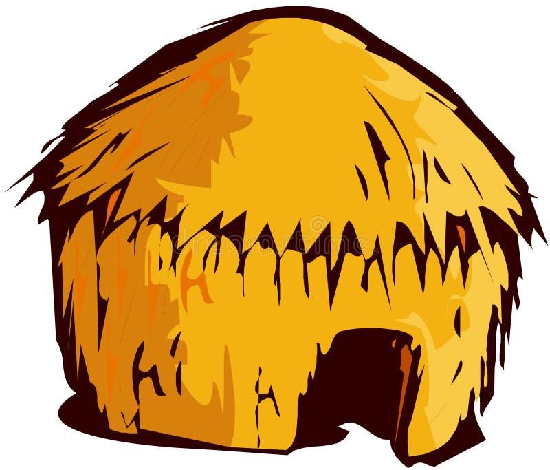 Tipi del Teepee della tenda illustrazione vettoriale