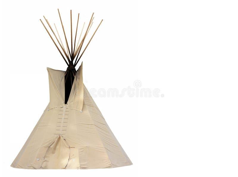 Tipi dell'nativo americano fotografia stock libera da diritti