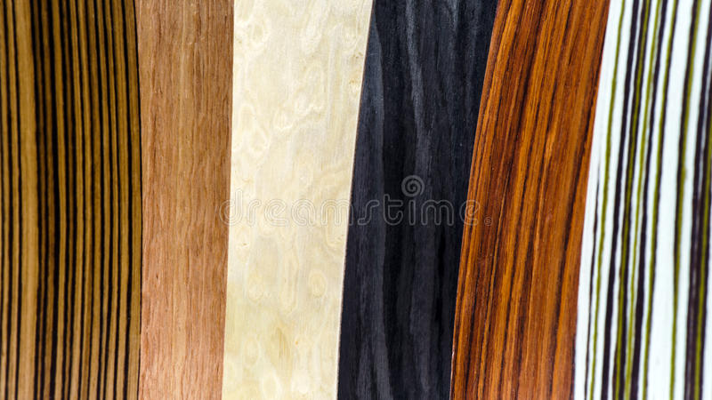 Tipi di legno di copertura messi immagini stock libere da diritti