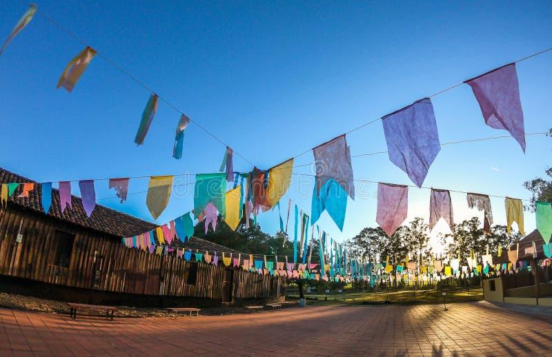 Tipical κόμμα της Βραζιλίας φεστιβάλ Junina στοκ φωτογραφίες