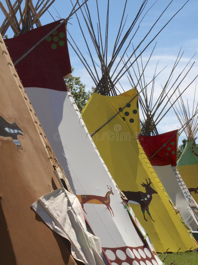 Tipis At Calgary Stampede Stock Photo Image Of Shelter