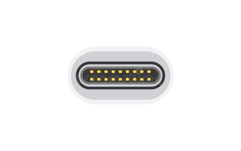Tipo-c cavo di USB royalty illustrazione gratis