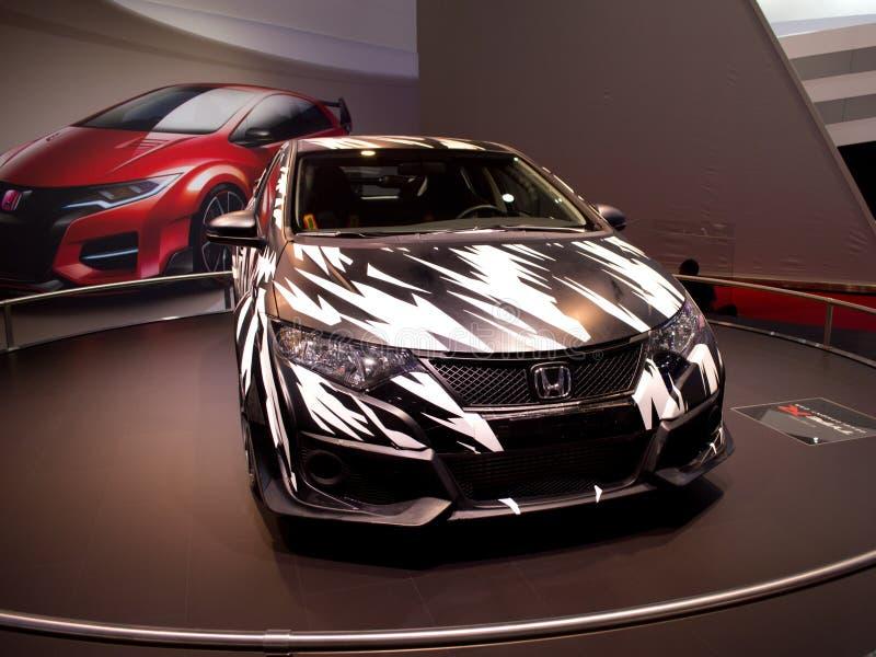 Tipo concetto Ginevra 2014 di Honda Civic della R immagini stock libere da diritti