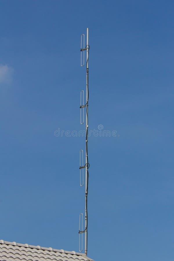 Tipo da antena de dipolo foto de stock royalty free