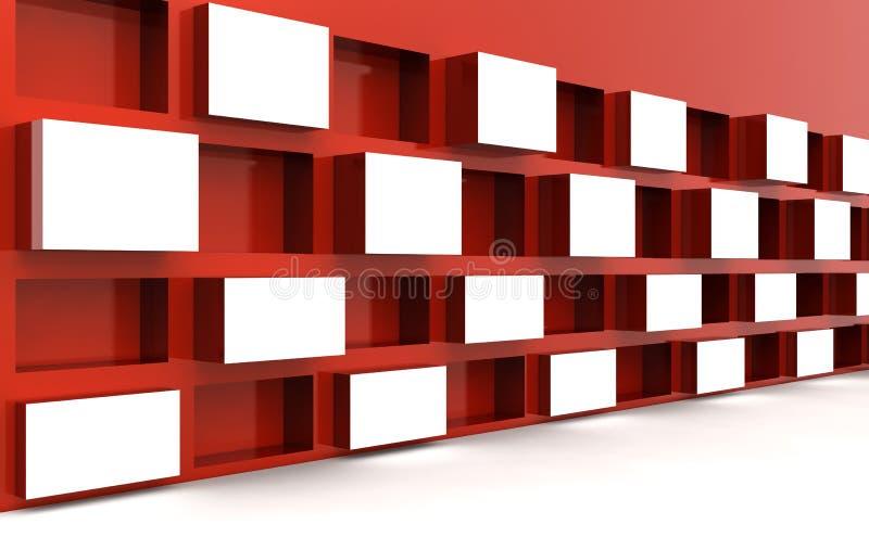Tipo da imagem de indicador do frame da foto no espaço branco ilustração do vetor