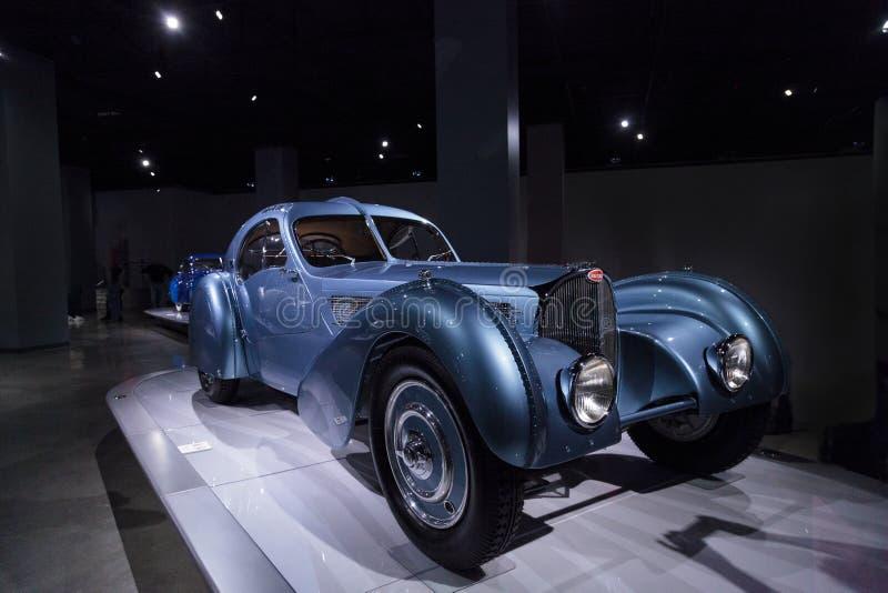 Tipo 1936 de Bugatti 57SC Atlântico imagens de stock
