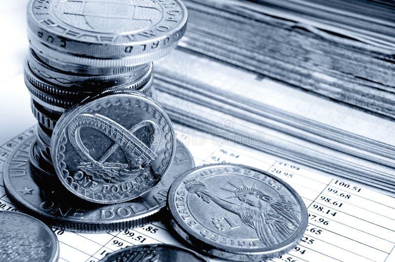 Tipo de cambio de la libra británico fotos de archivo libres de regalías