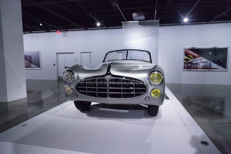 Tipo 1951 de Delahaye da prata 235 convertible do Cabriolet fotos de stock