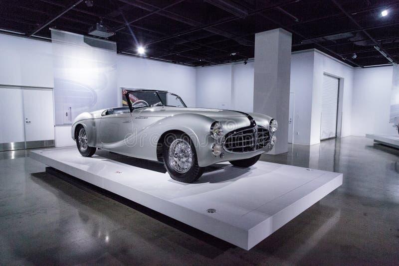 Tipo 1951 de Delahaye da prata 235 convertible do Cabriolet imagens de stock royalty free