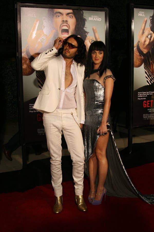 Tipo de Russell e Katy Perry #5 imagens de stock royalty free
