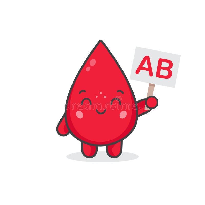Tipo de sangre AB libre illustration