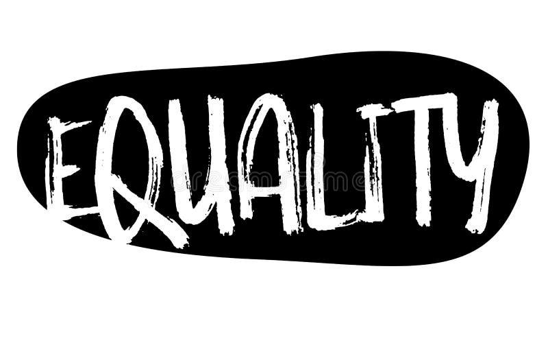 Tipo del bollo di uguaglianza illustrazione vettoriale