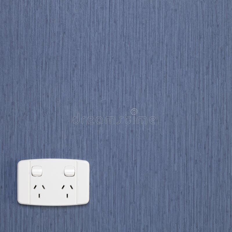 Tipo dell'Australia Nuova Zelanda della presa di corrente elettrica immagini stock