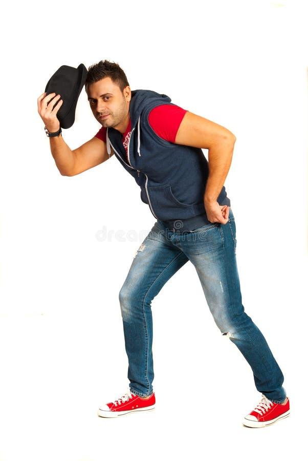 Tipo della via di dancing fotografie stock