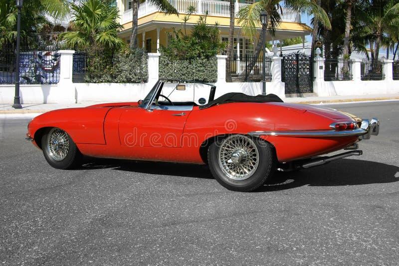 Tipo 1961 di Jaguar E convertibile immagini stock libere da diritti