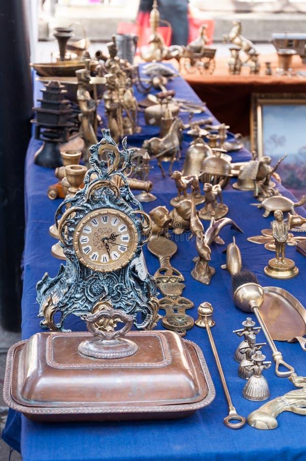 Tenda antiga do mercado fotografia de stock royalty free