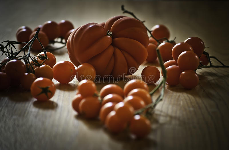 Tipo do tomate fotografia de stock