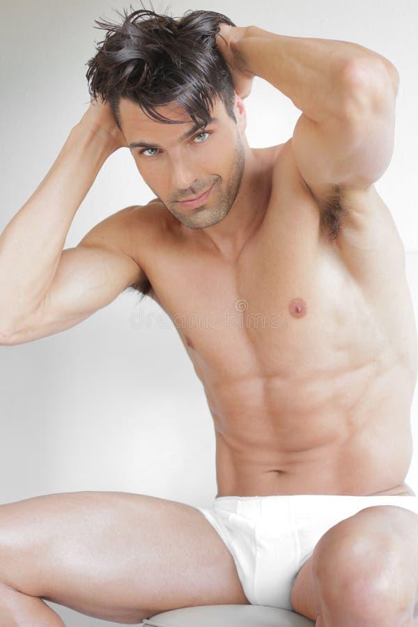 Download Tipo sveglio sexy fotografia stock. Immagine di uomo - 30829370
