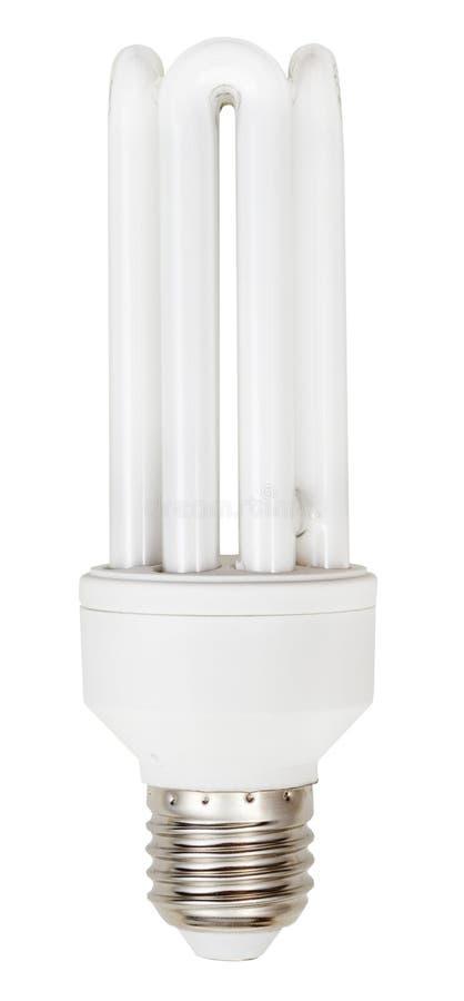 Tipo tubular de poupança de energia lâmpada fluorescente do estojo compacto fotografia de stock royalty free