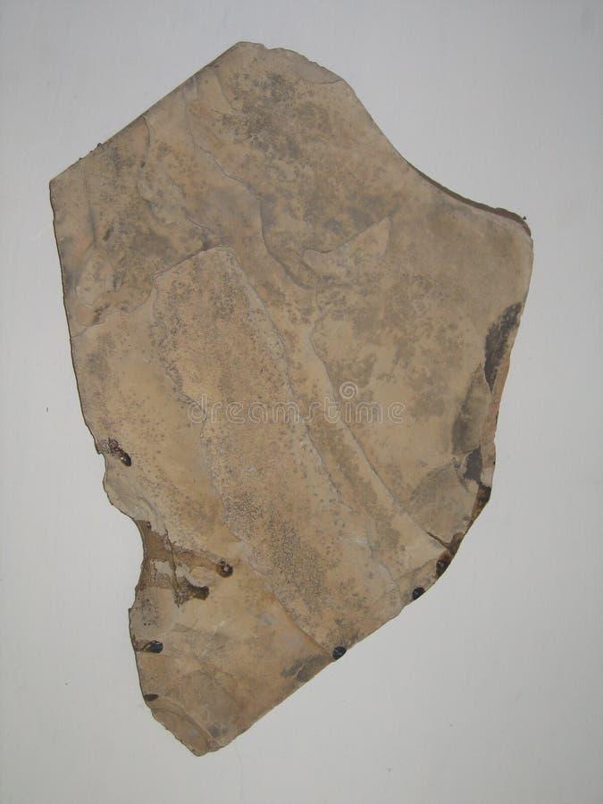 Tipo visión del fondo de pequeñas rocas en un camino del pavimento imagen de archivo