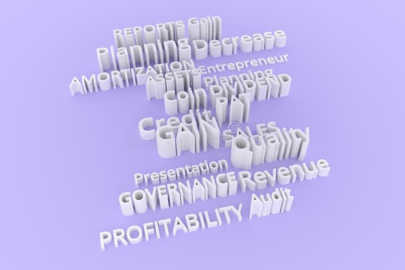 Tipografía abstracta del cgi, palabras claves relacionadas con el mercado Papel pintado para el diseño gráfico Gris, amortización fotos de archivo libres de regalías