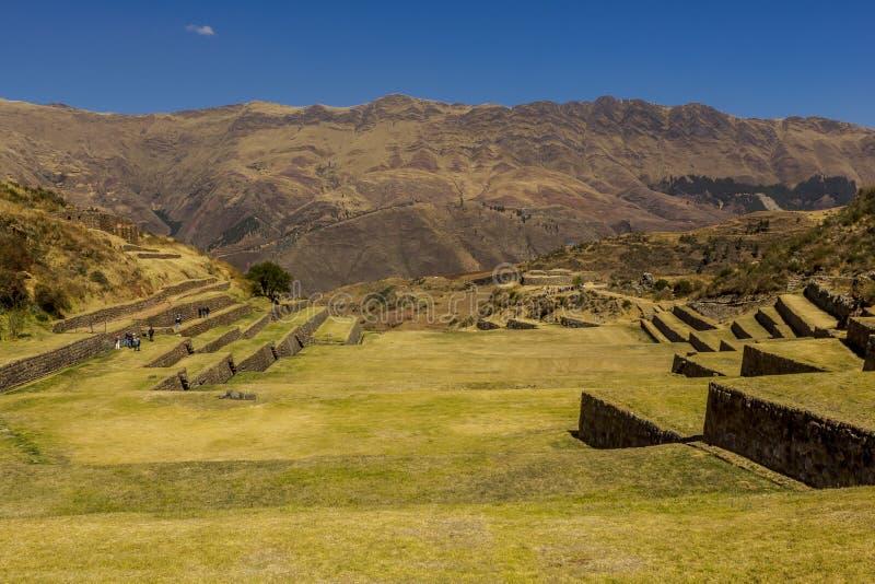 Tipon arruina o Peru de Cuzco fotos de stock royalty free
