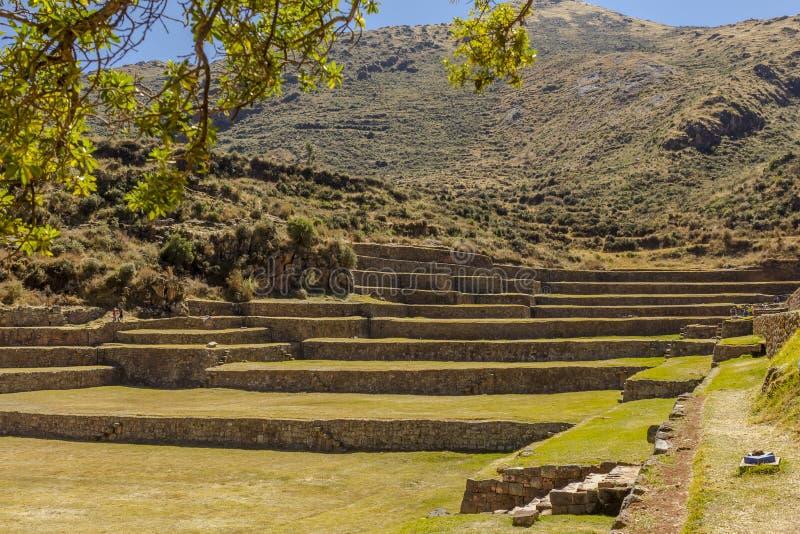 Tipon fördärvar Cuzco Peru royaltyfri bild