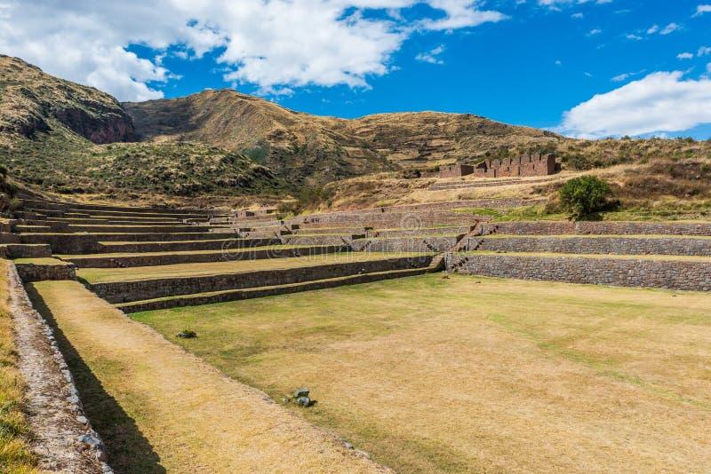 Tipon ruine les Andes péruviens Cuzco Pérou photos stock