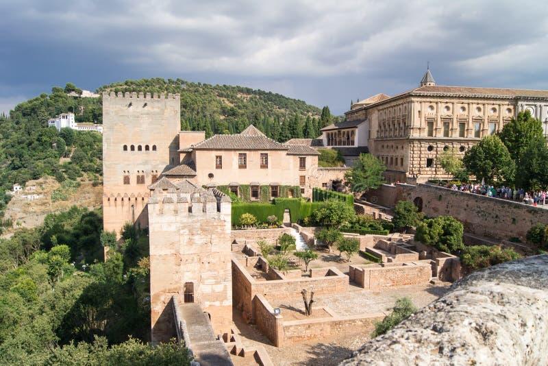 Tipos de Alhambra fotografia de stock