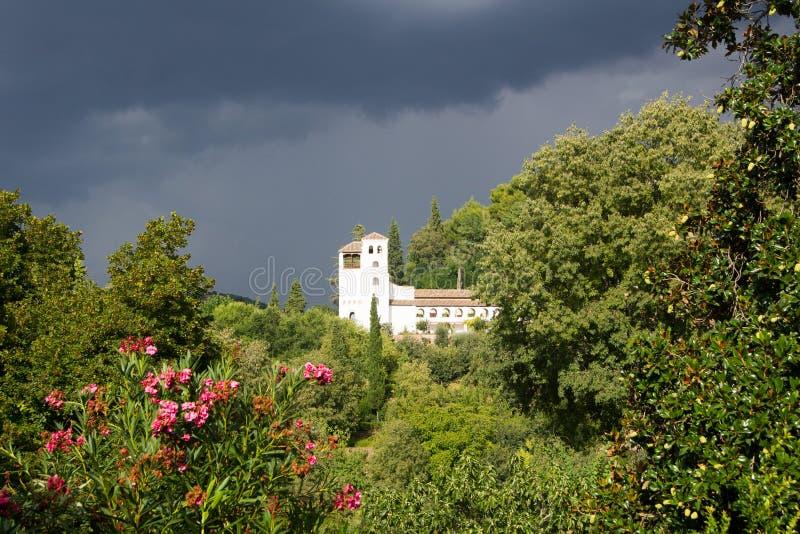 Tipos de Alhambra imagem de stock royalty free