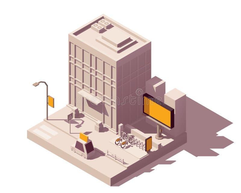Tipos de la publicidad al aire libre del vector stock de ilustración