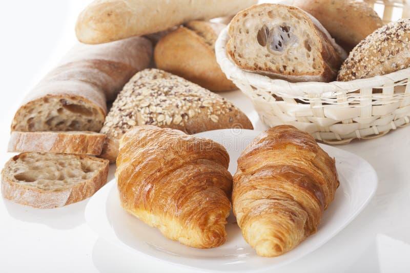 Tipos de pan fotografía de archivo libre de regalías