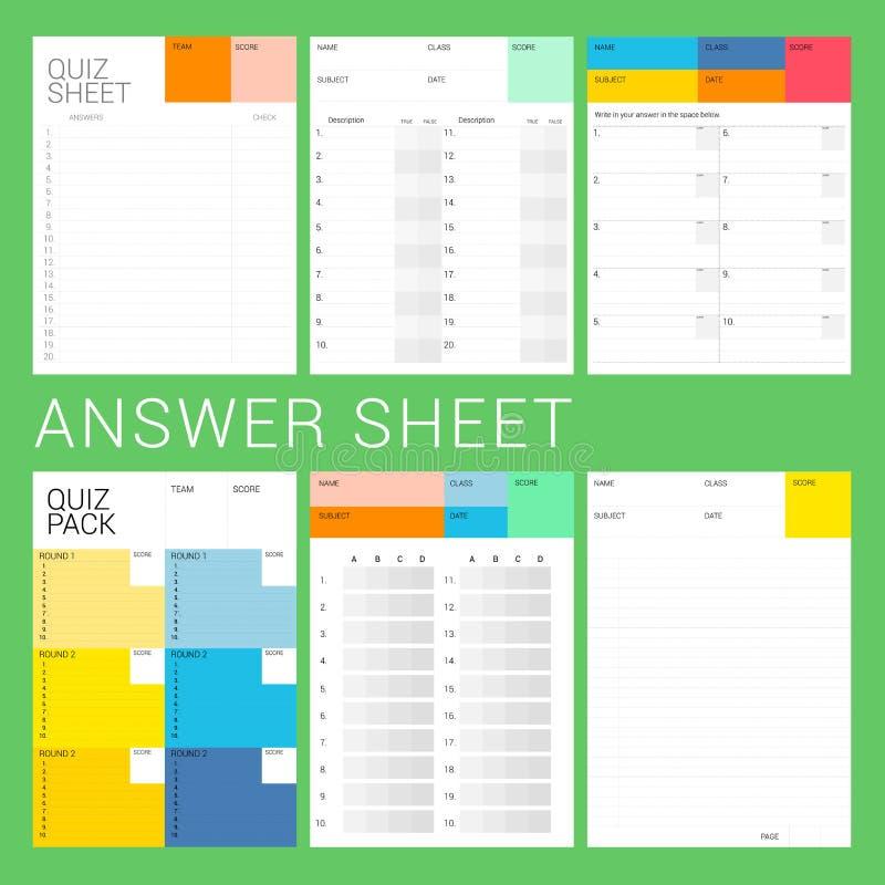 6 tipos de respuesta libre illustration