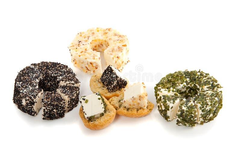 Tipos diferentes de queijo fotografia de stock
