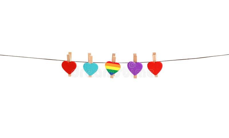 Tipos diferentes do amor igualdade ilustração do vetor
