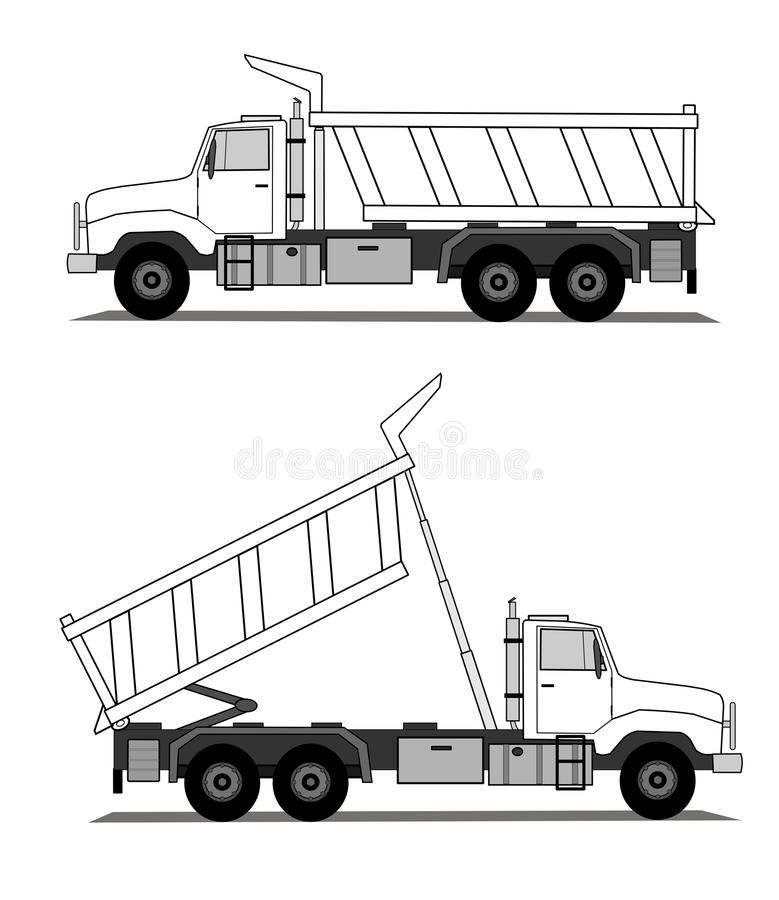 tipper royalty ilustracja