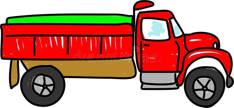 tipper ciężarówka. ilustracji