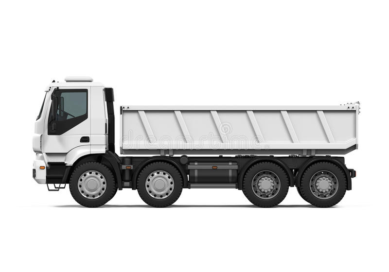 Tipper Dump Truck illustration stock