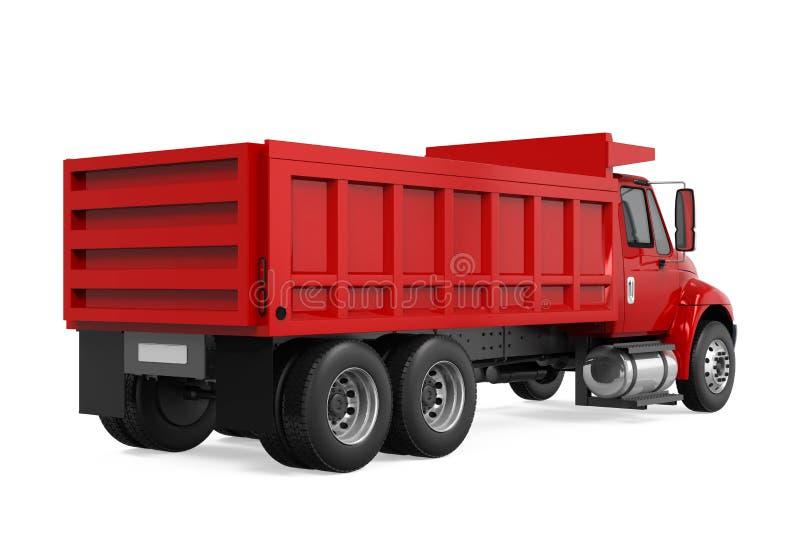 Tipper Dump Truck illustration stock