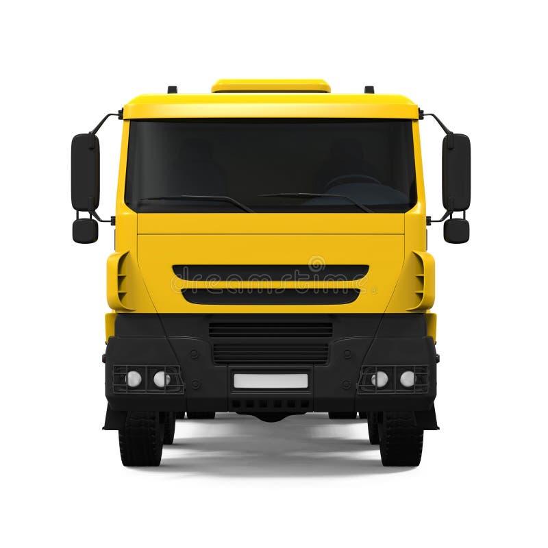 Tipper Dump Truck jaune illustration de vecteur