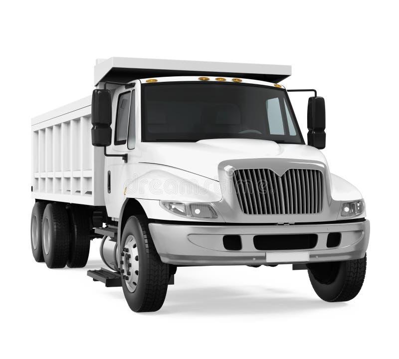 Tipper usypu ciężarówka royalty ilustracja