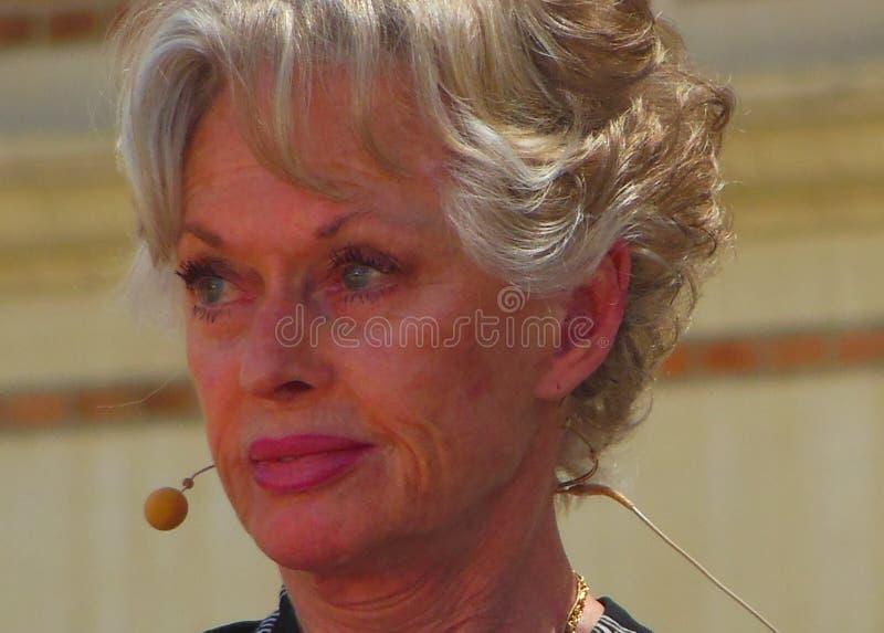 Tippi Hedren royalty-vrije stock foto