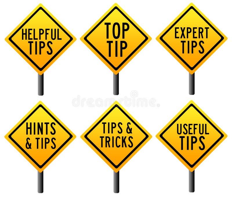 Tipps und Tricks vektor abbildung